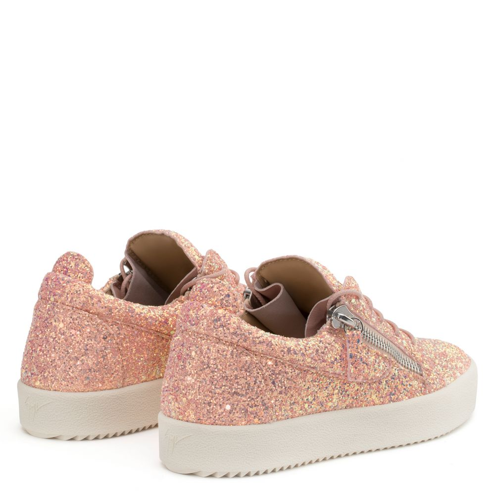 CHERYL GLITTER - Pink - Low top sneakers