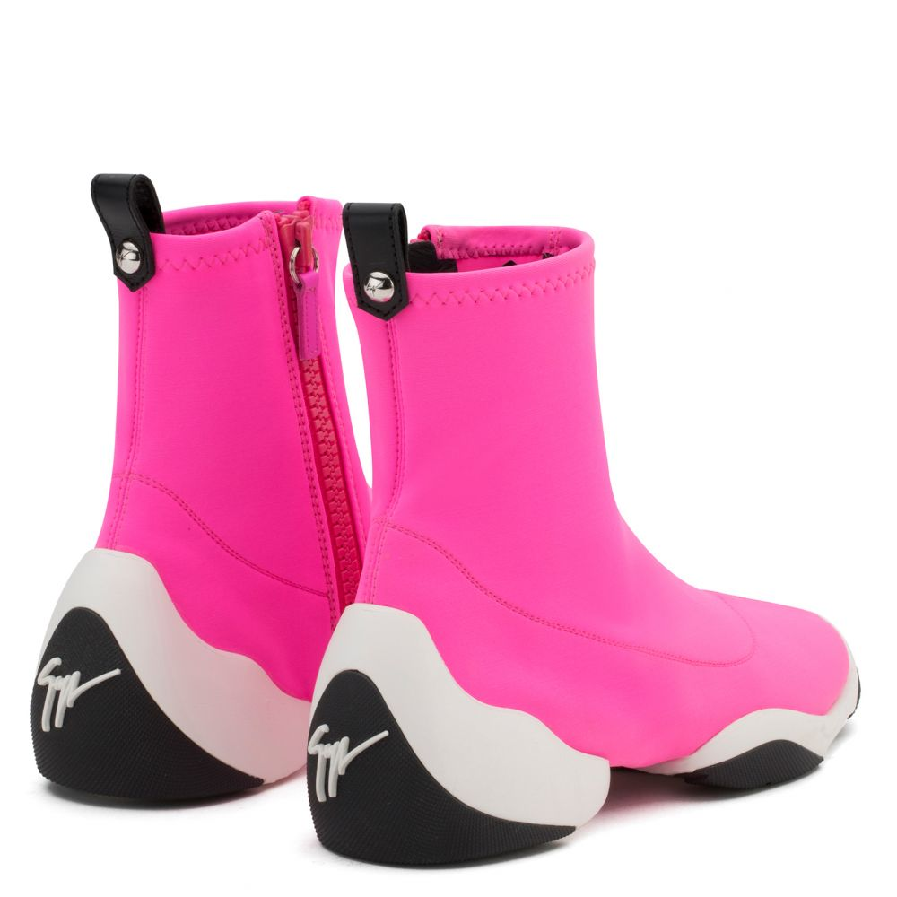 LIGHT JUMP HT1 - Fuxia - Sneakers hautes