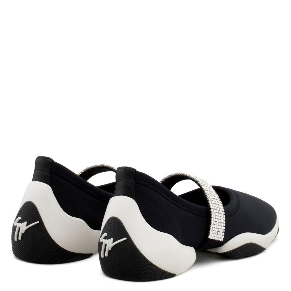 JUMP CRYSTAL - Noir - Slip On