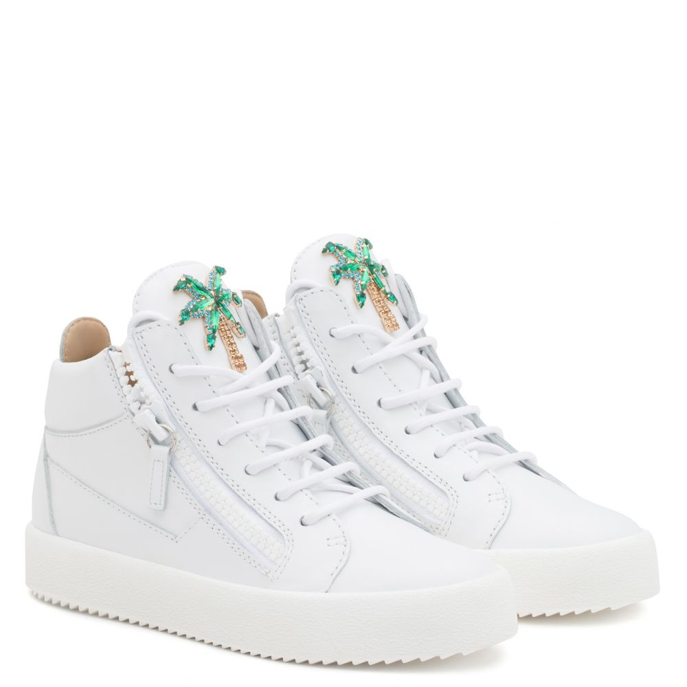 VENICE BEACH - White - Mid top sneakers
