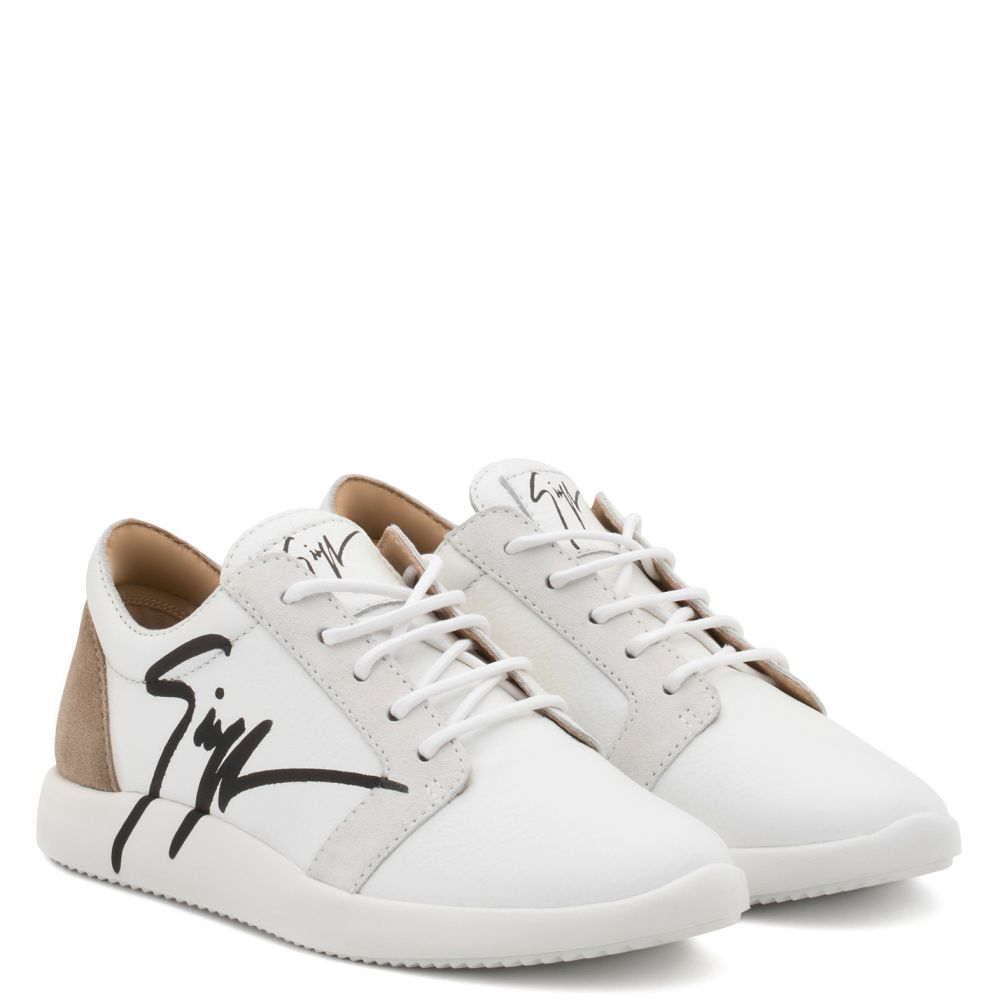 G RUNNER - White - Low top sneakers