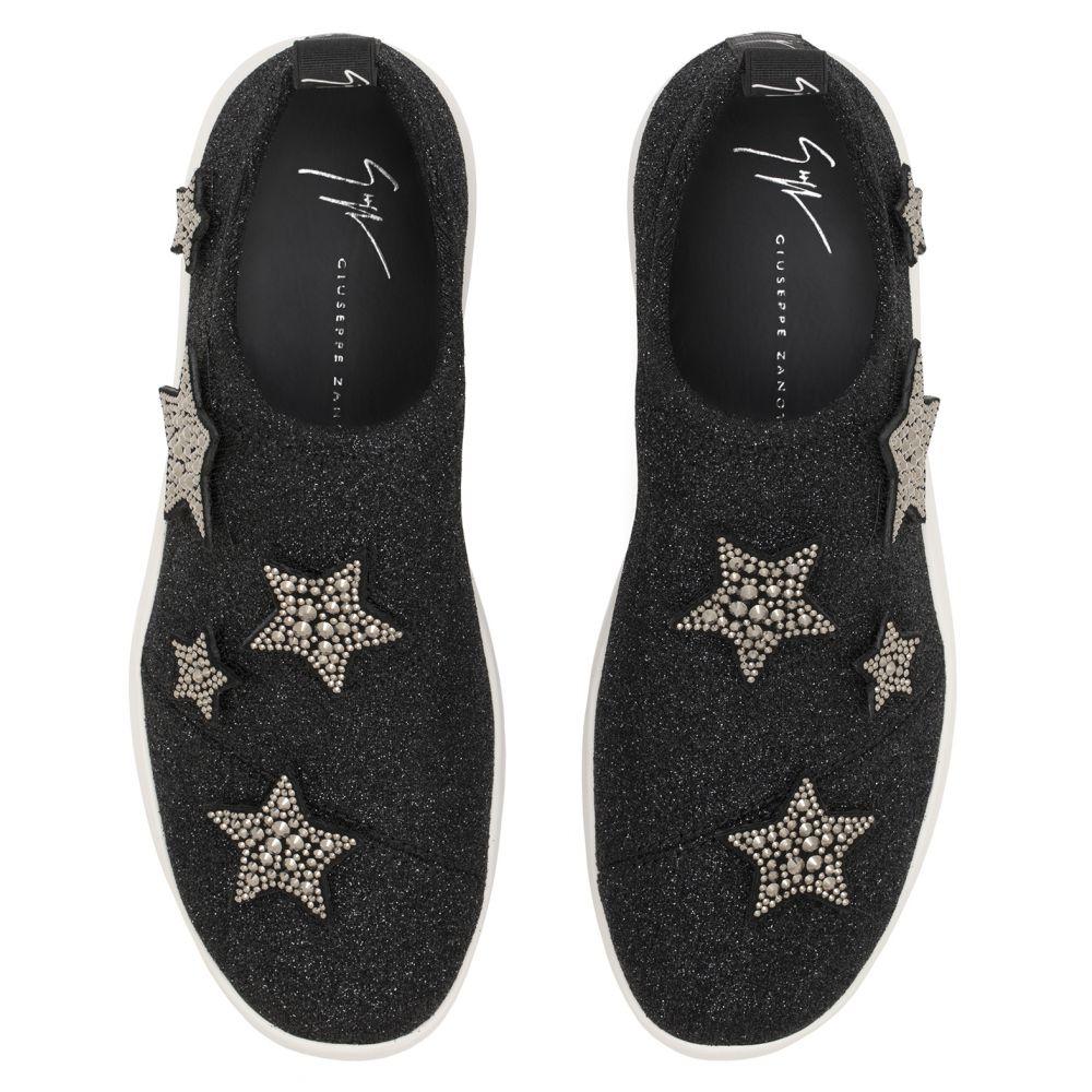ALENA STAR - Black - Low top sneakers