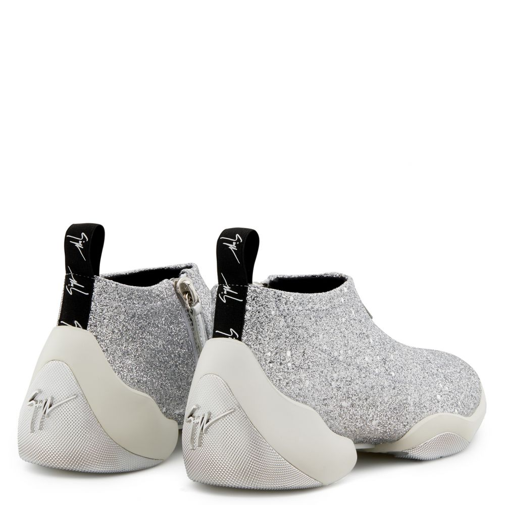 GLITTER JUMP - Silver - Low top sneakers