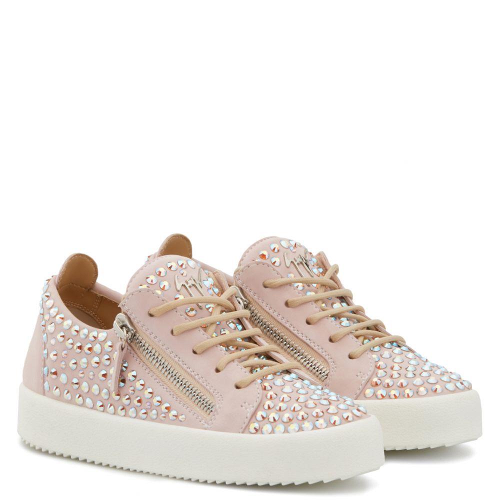 DORIS LOW JR. - Pink - Low top sneakers