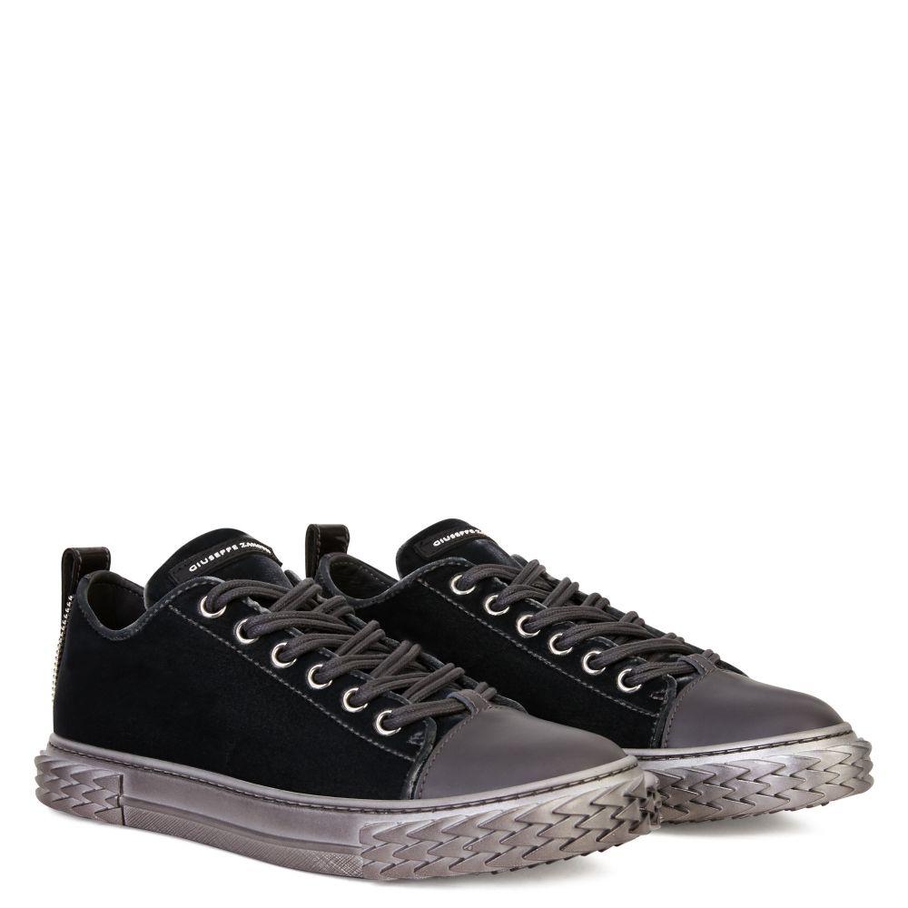 BLABBER - Grey - Low top sneakers