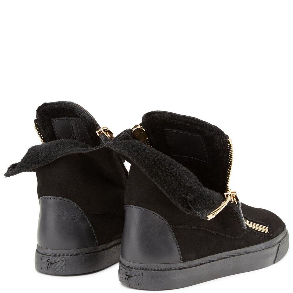 ANGEL - Noir - Sneakers hautes