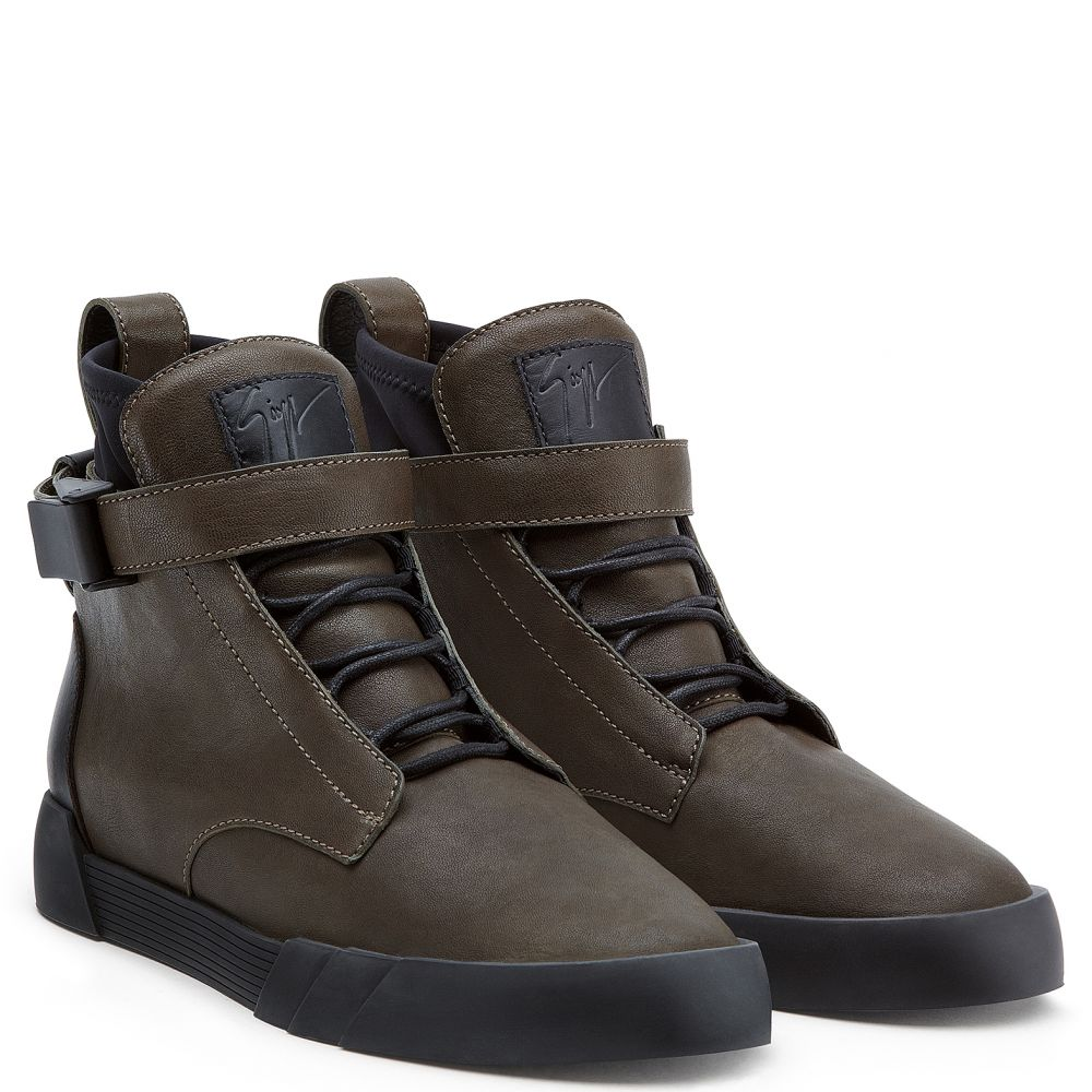 THE SHARK 6.0 - Brown - High top sneakers