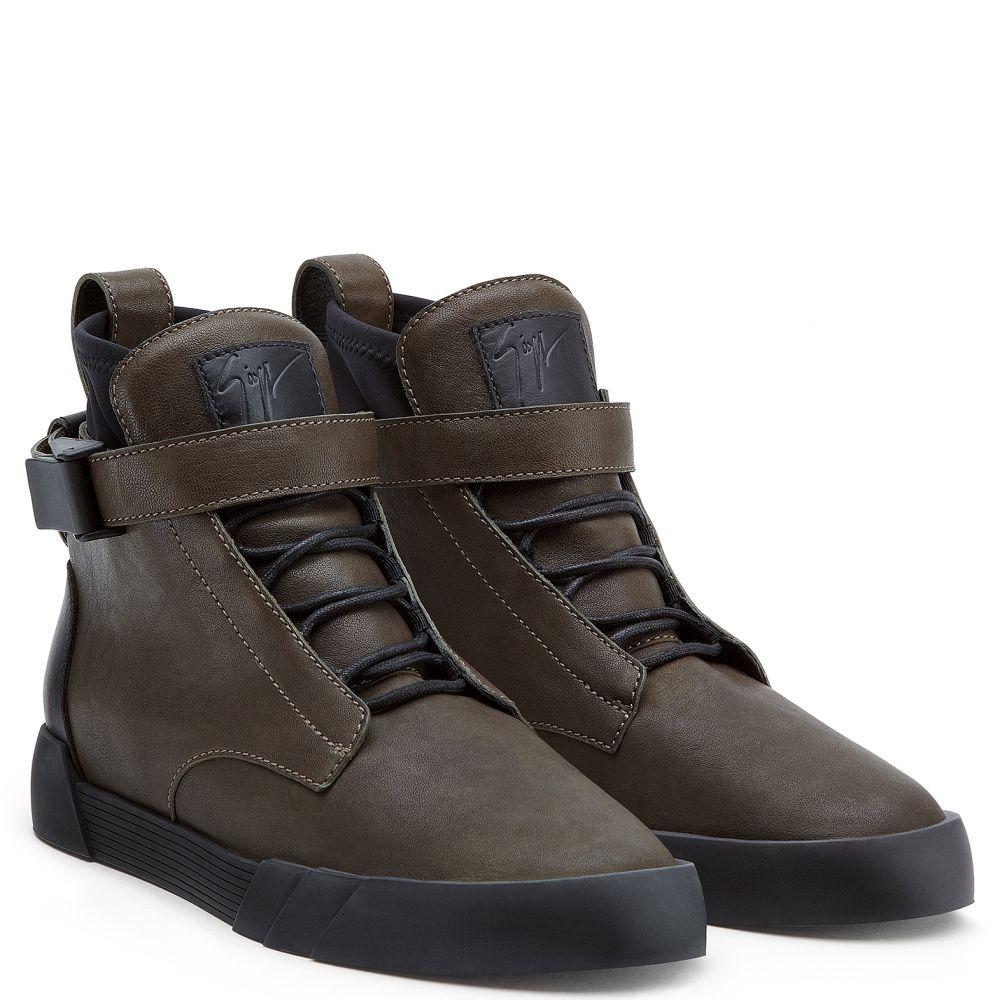 THE SHARK 6.0 - Marron - Sneakers hautes