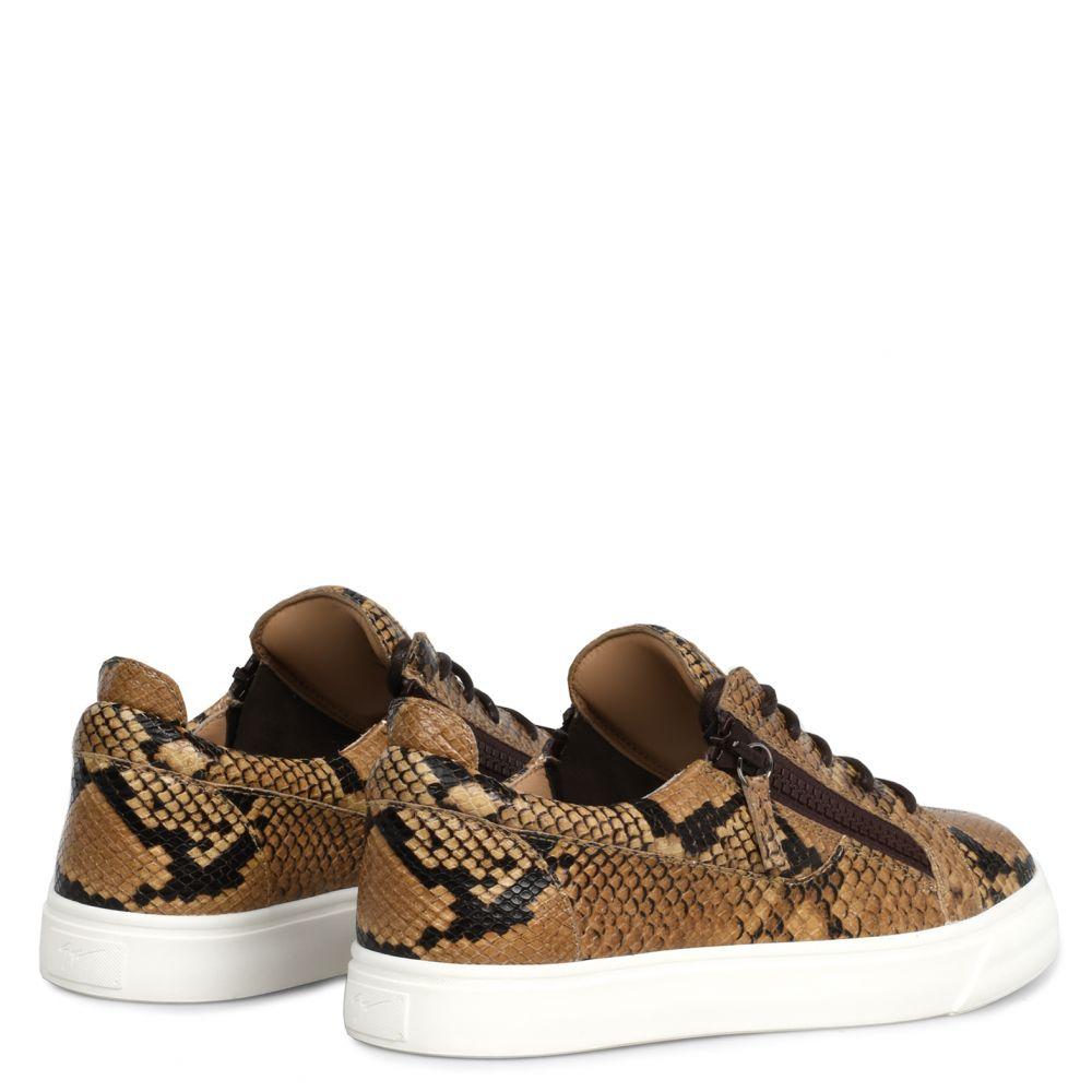 NICKI - Brown - Low top sneakers