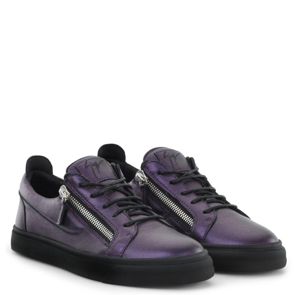 FRANKIE - Purple - Low top sneakers