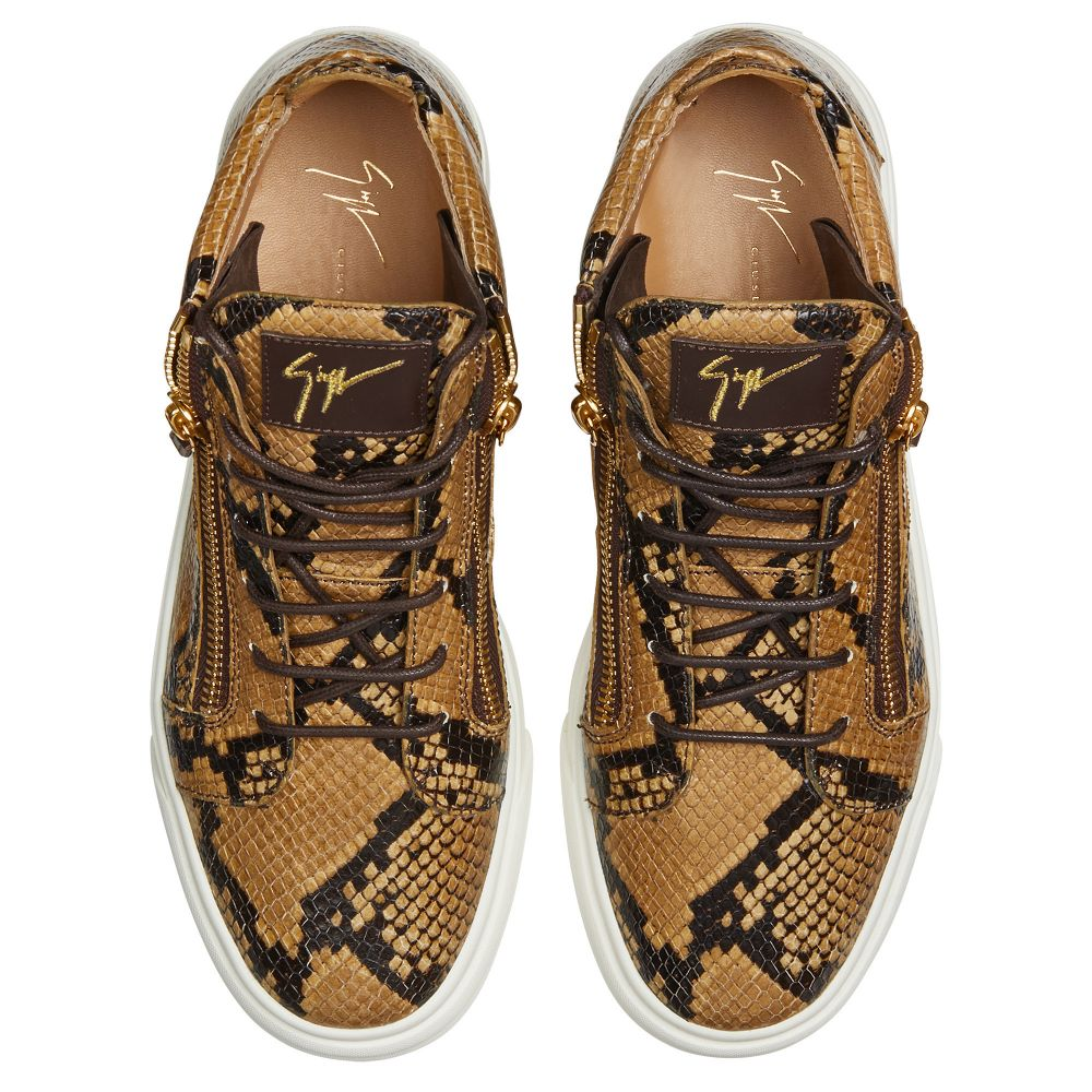 KRISS - Brown - Mid top sneakers