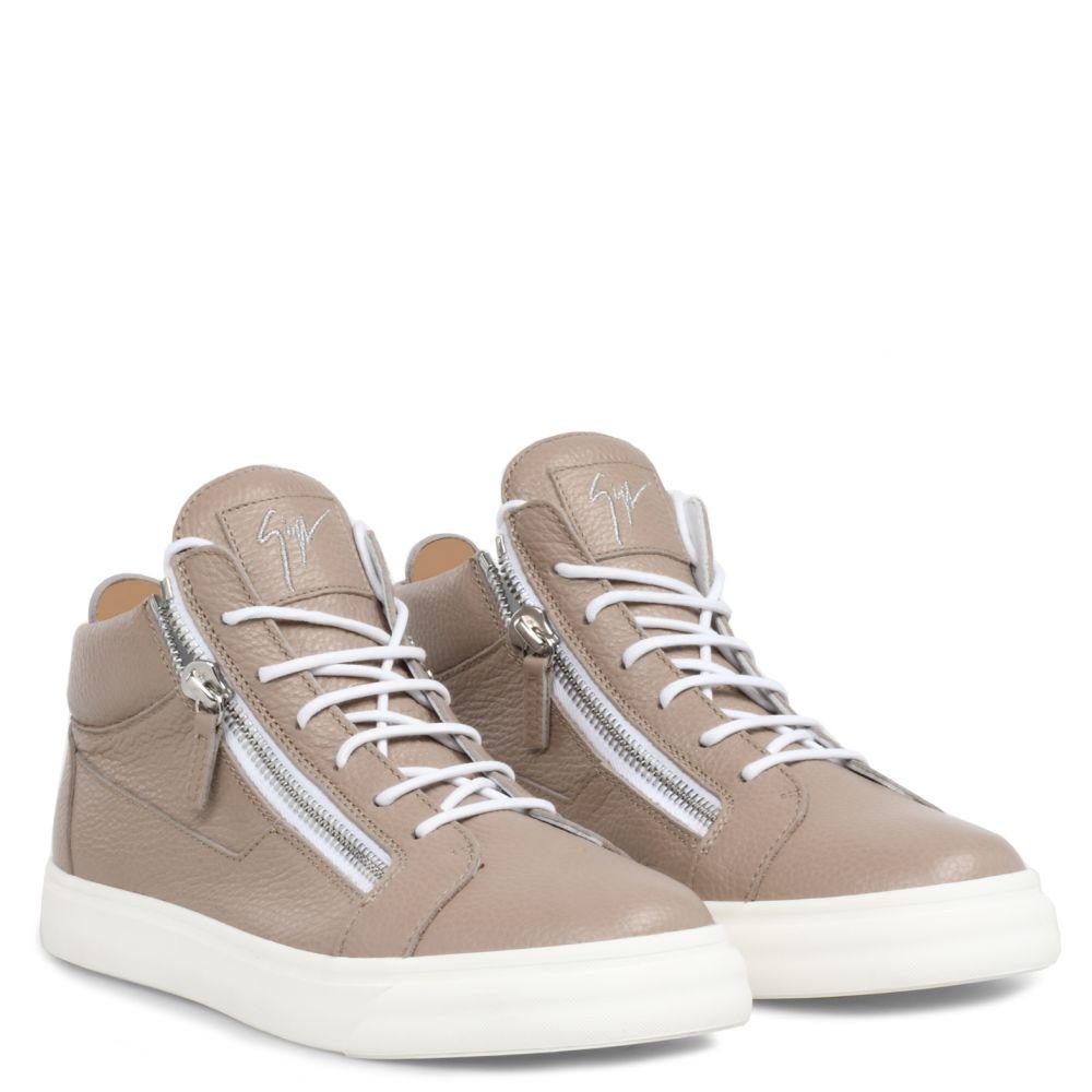 NICKI - Beige - Mid top sneakers