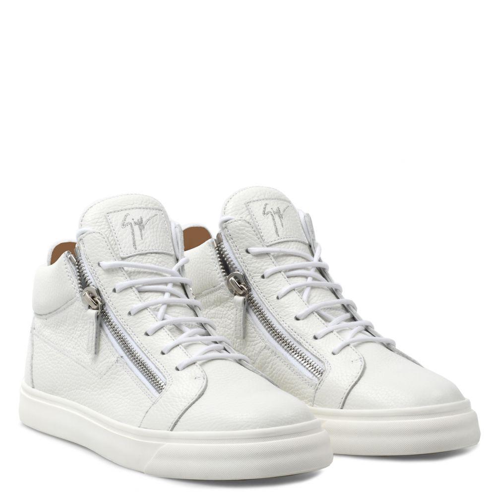 NICKI - White - Mid top sneakers