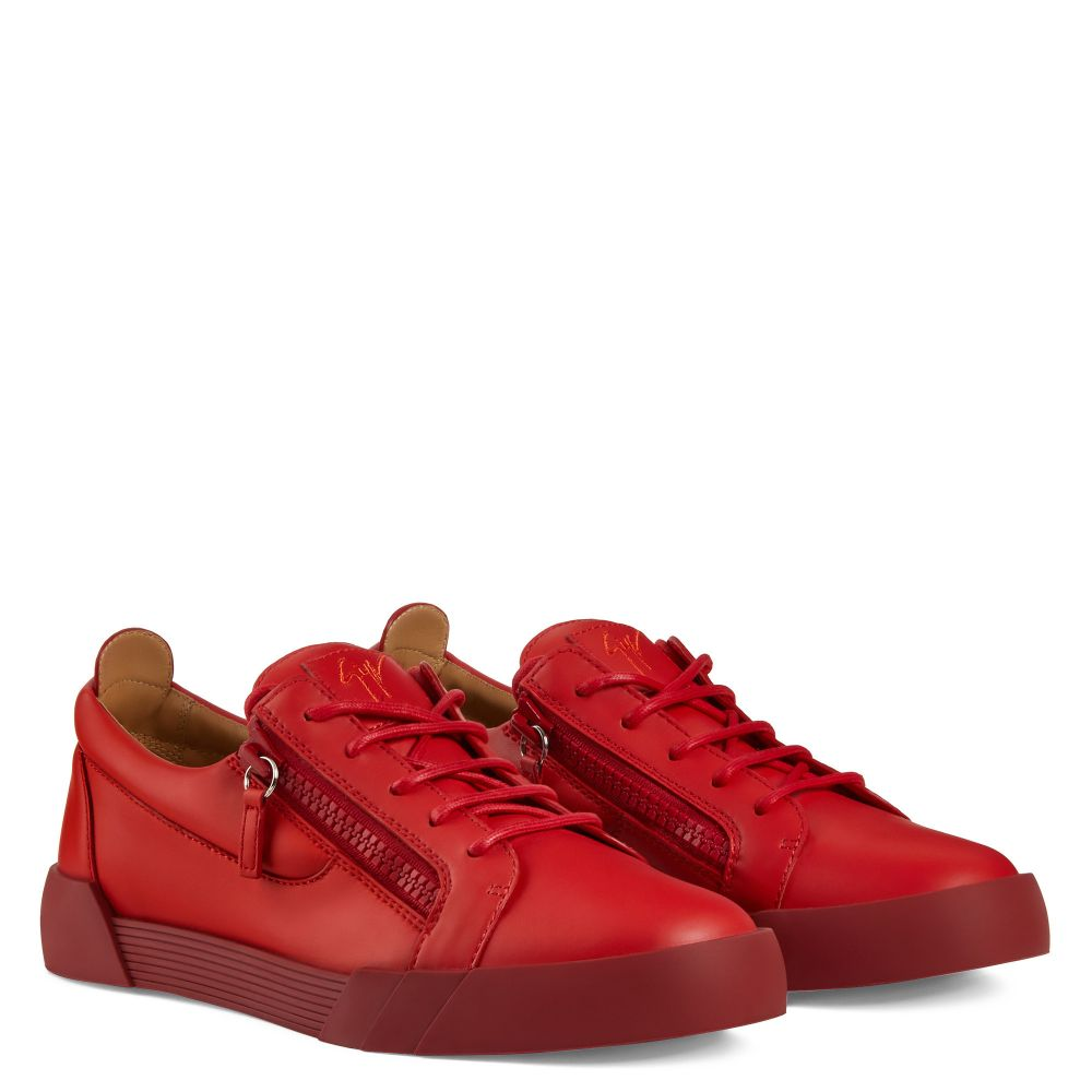 THE SHARK 5.0 LOW - Red - Low top sneakers