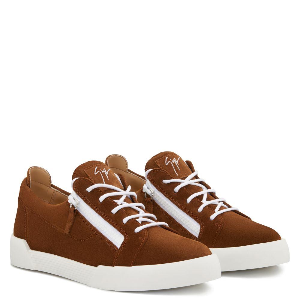 THE SHARK 5.0 LOW - Brown - Low top sneakers
