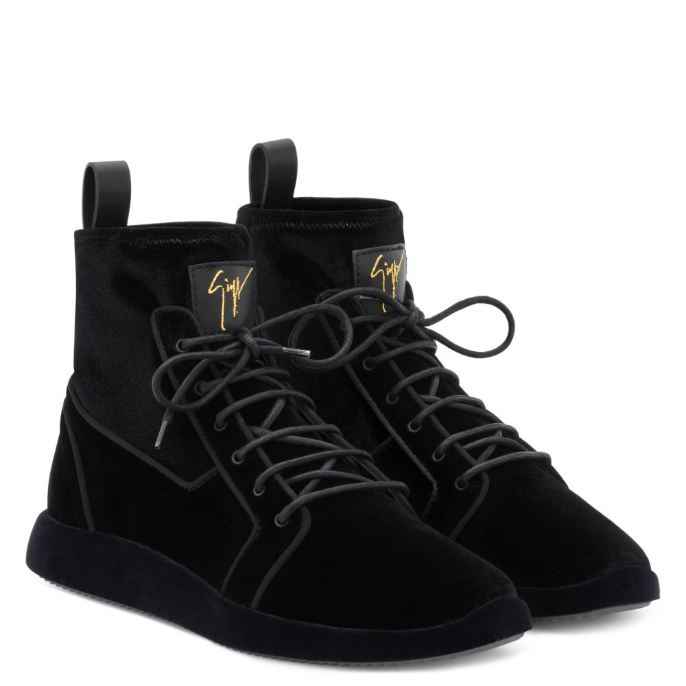 CESAR - Black - High top sneakers