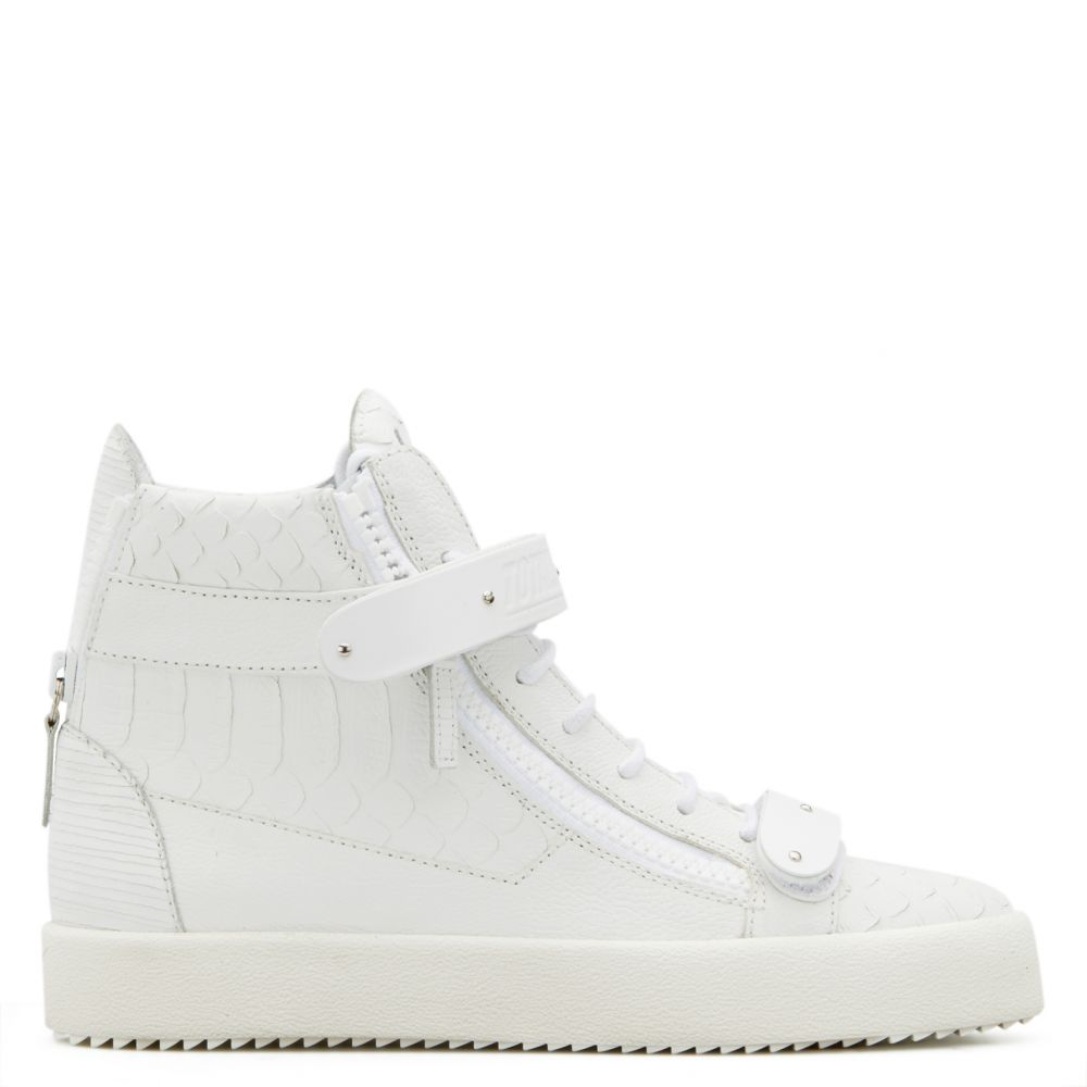 COBY - White - High top sneakers