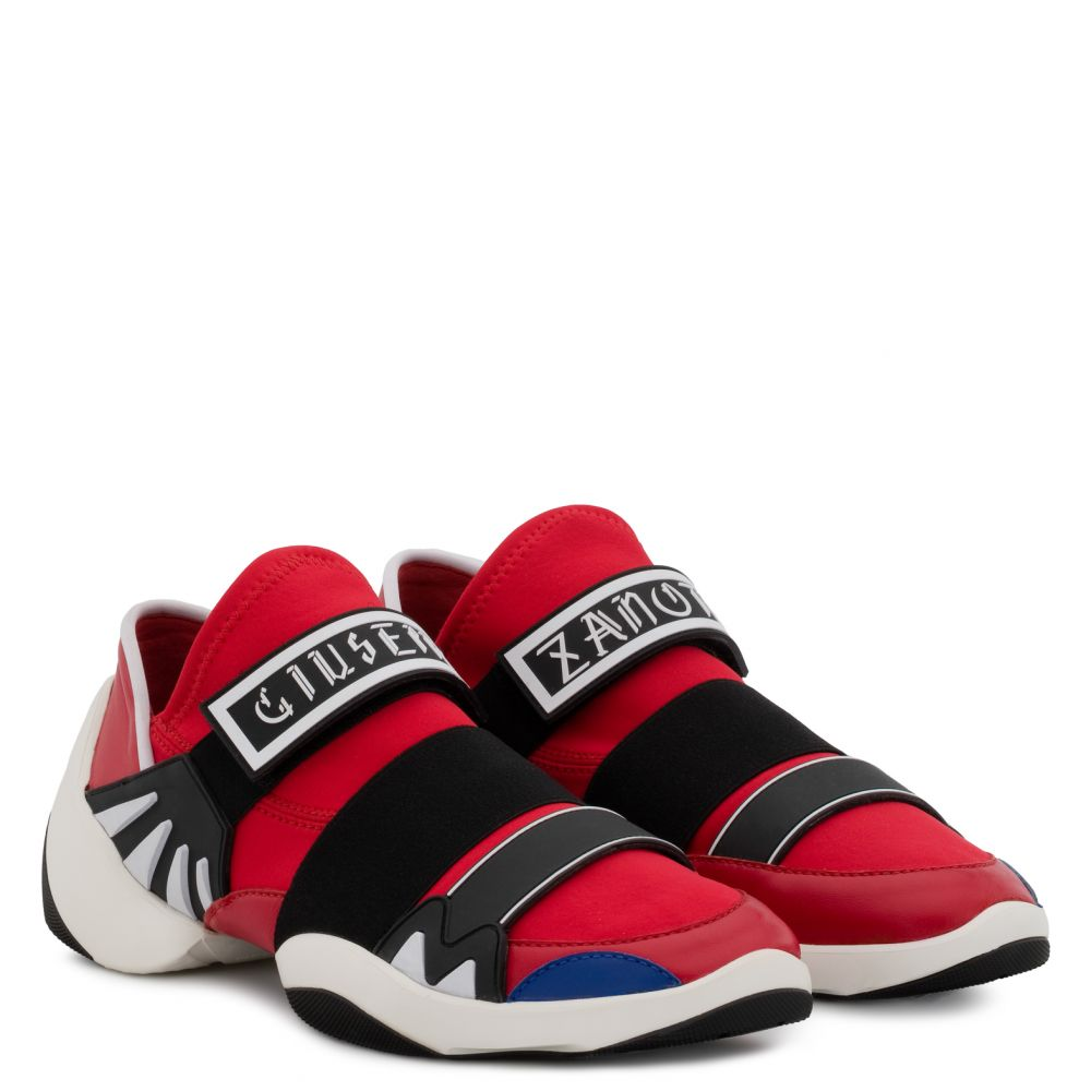 JUMP R18 - Red - Slip ons