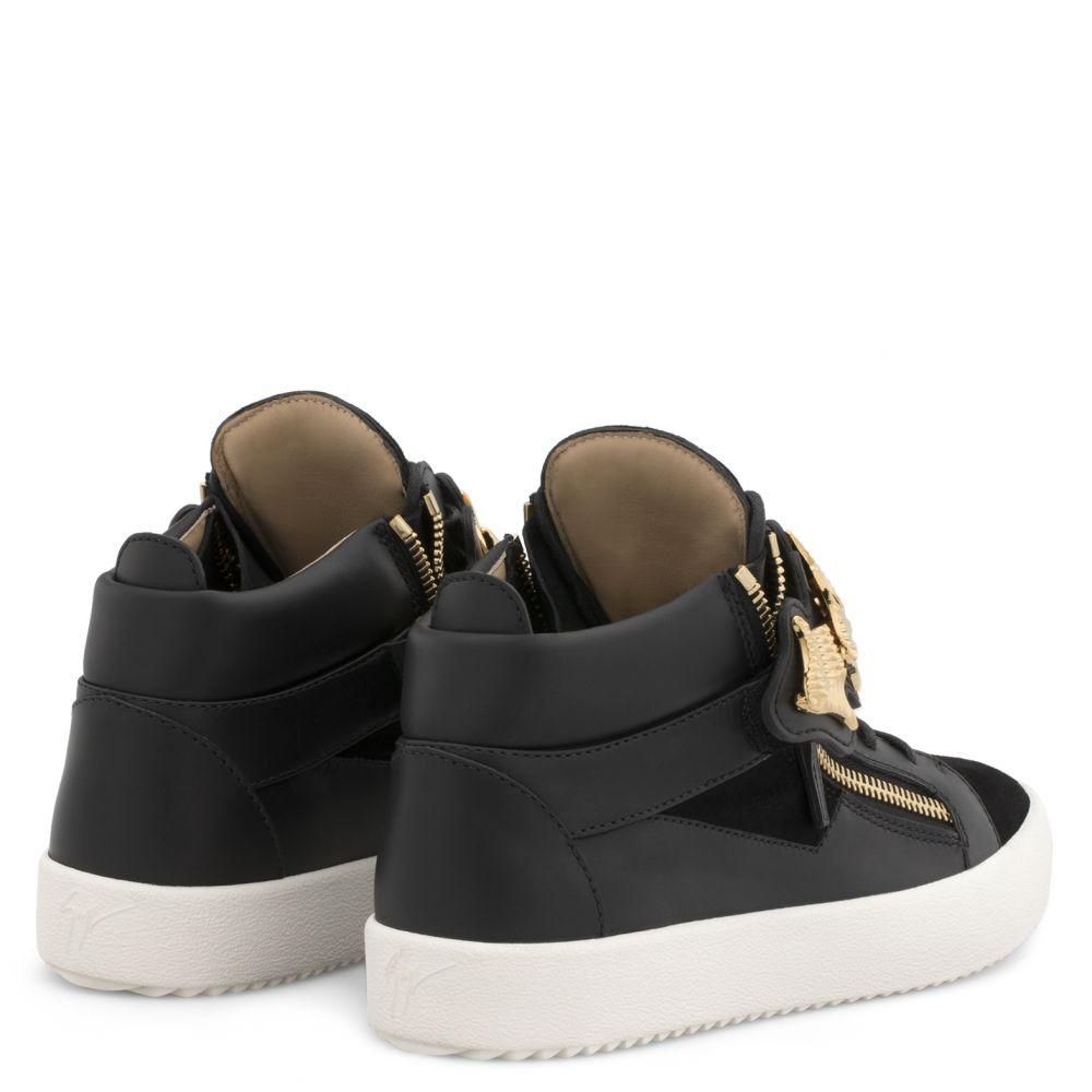 KANE - Black - Mid top sneakers