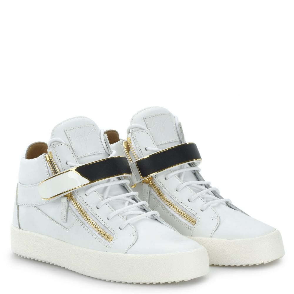 KRISS 1/2 - White - Mid top sneakers