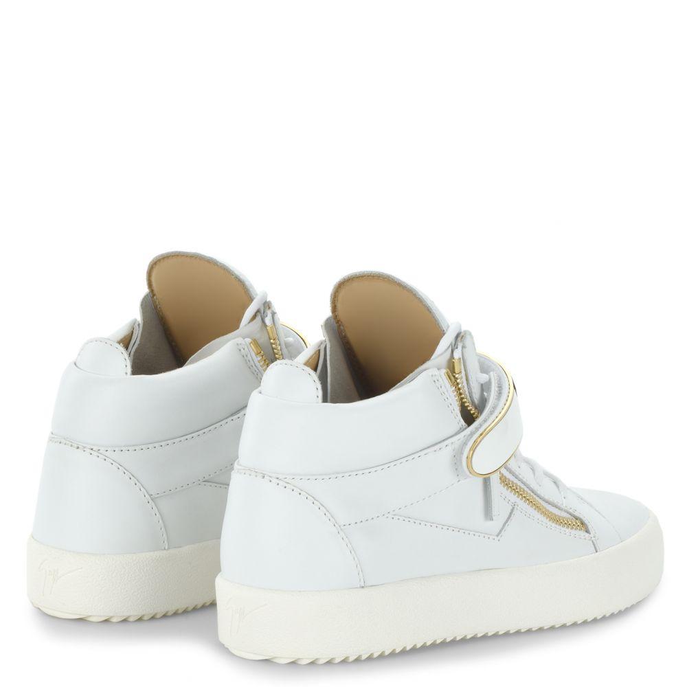 KRISS 1/2 - Blanc - Sneakers montante