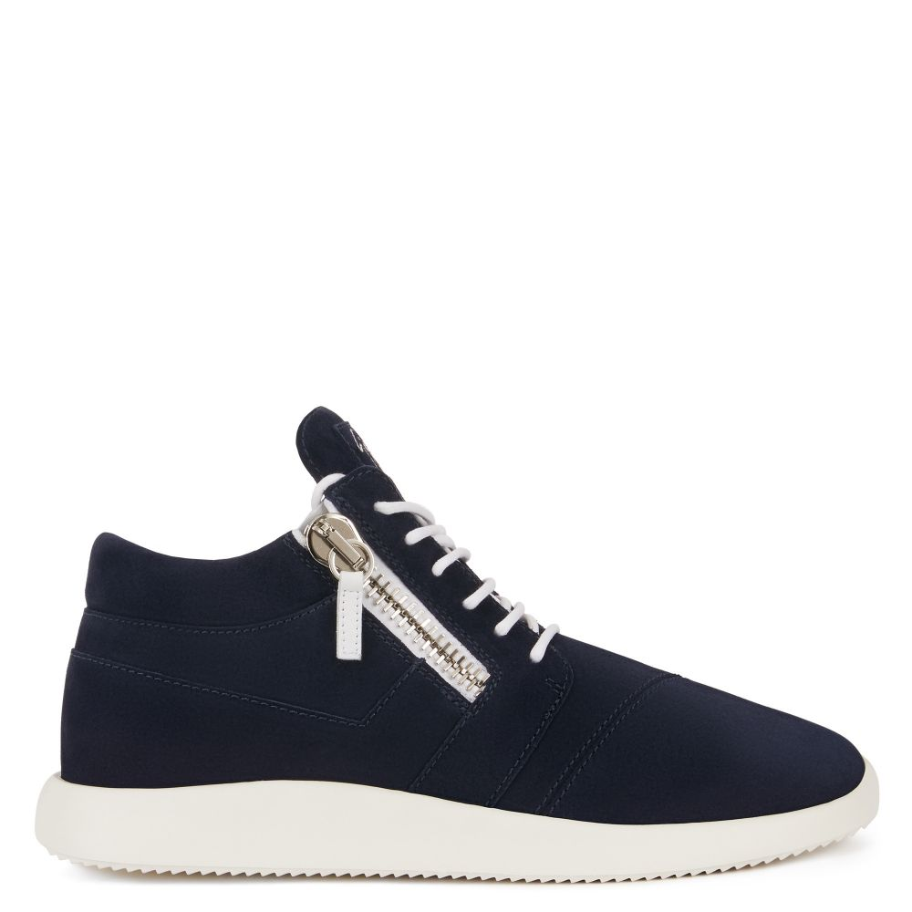 HAYDEN - Blue - Mid top sneakers