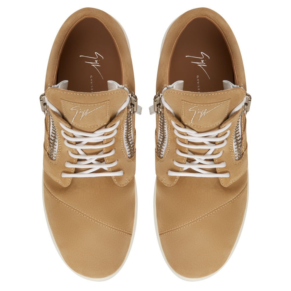 HAYDEN - Beige - Mid top sneakers