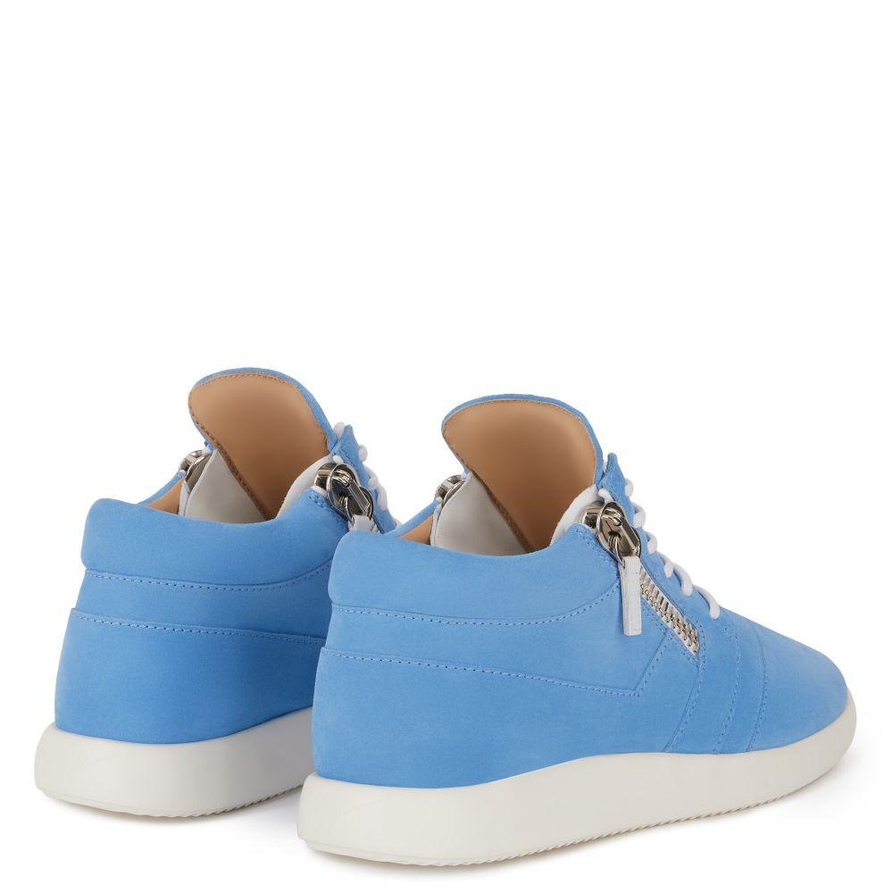 HAYDEN - Blue - Mid top sneakers