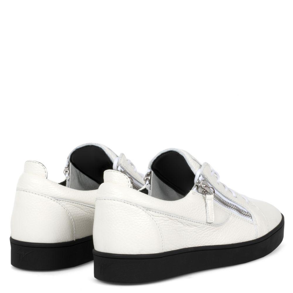 FRANKIE - Blanc - Sneakers basses