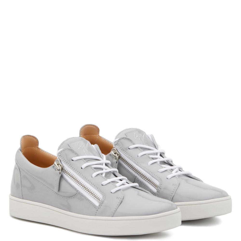 FRANKIE - Grey - Low top sneakers