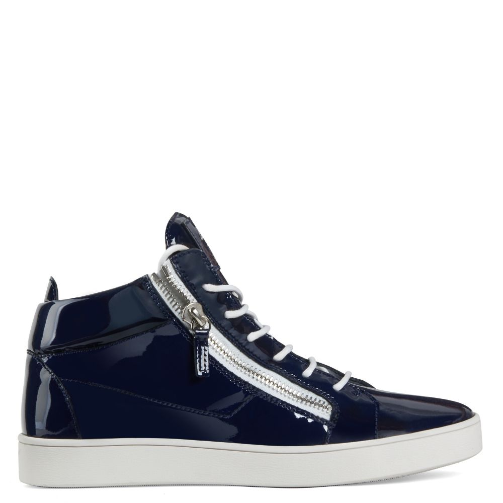 KRISS - Blue - Mid top sneakers