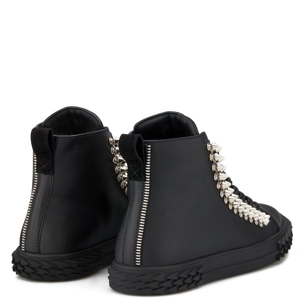 BLABBER - Black - High top sneakers