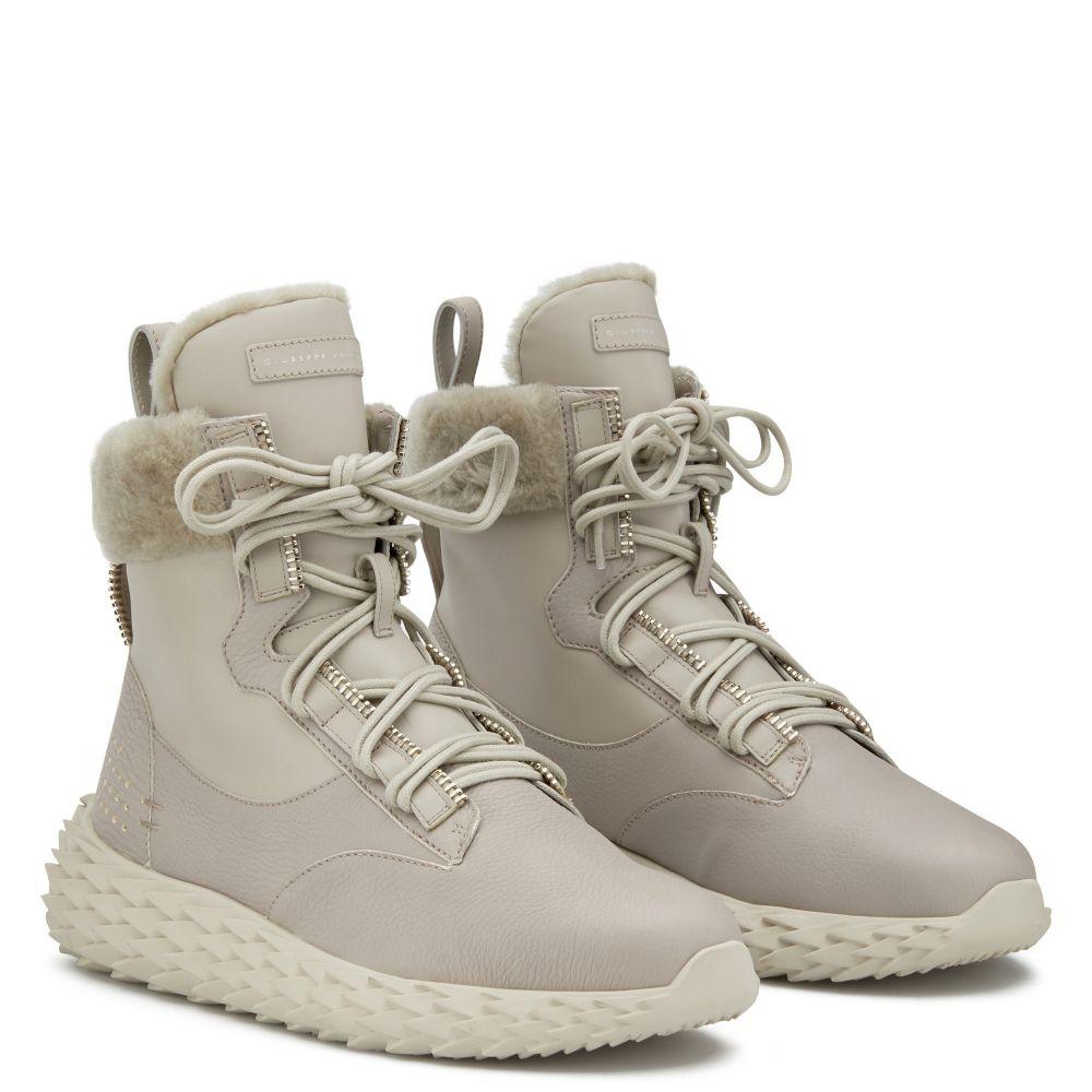 URCHIN - Beige - High top sneakers