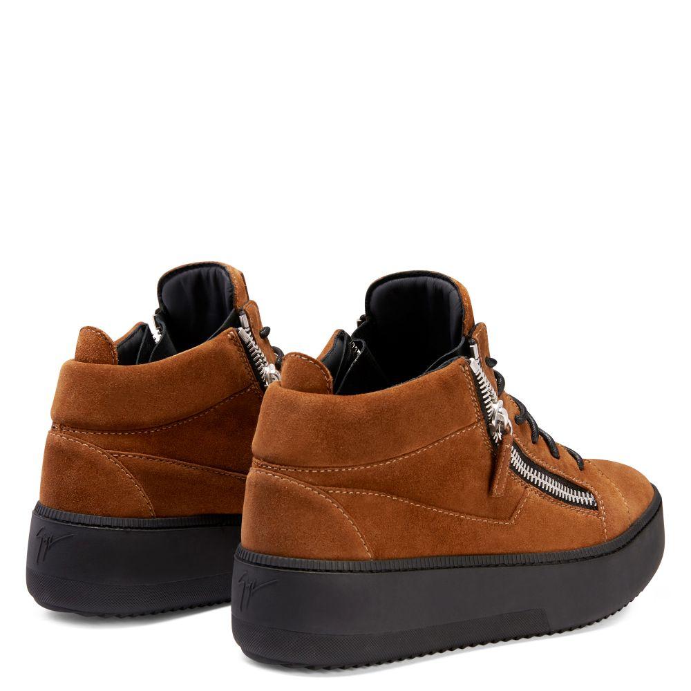 FRANKIE - Marron - Sneakers basses