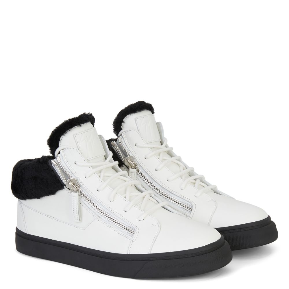 KRISS - White - Mid top sneakers