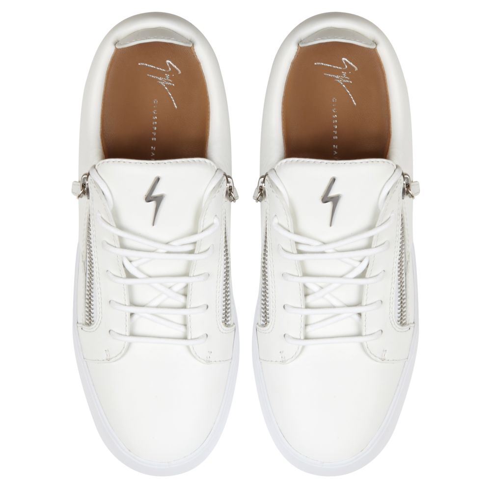 FRANKIE - White - Low top sneakers
