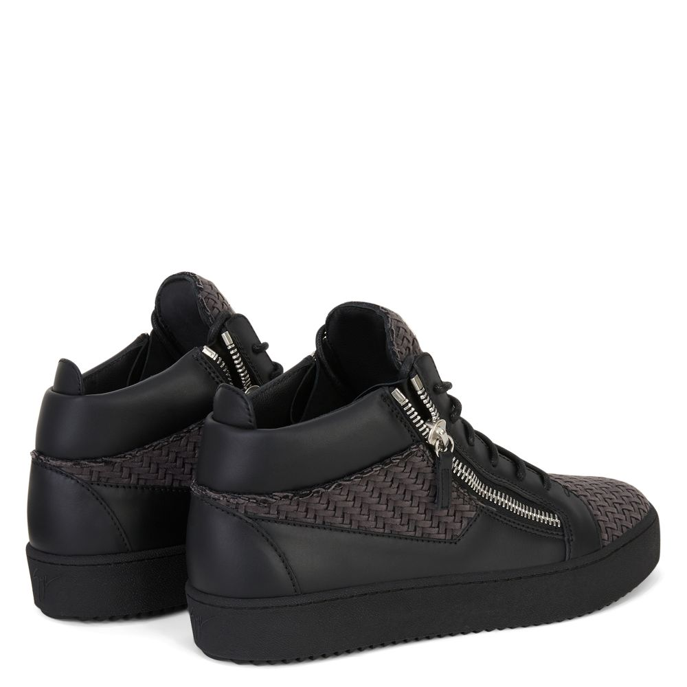 KRISS - Grey - Mid top sneakers