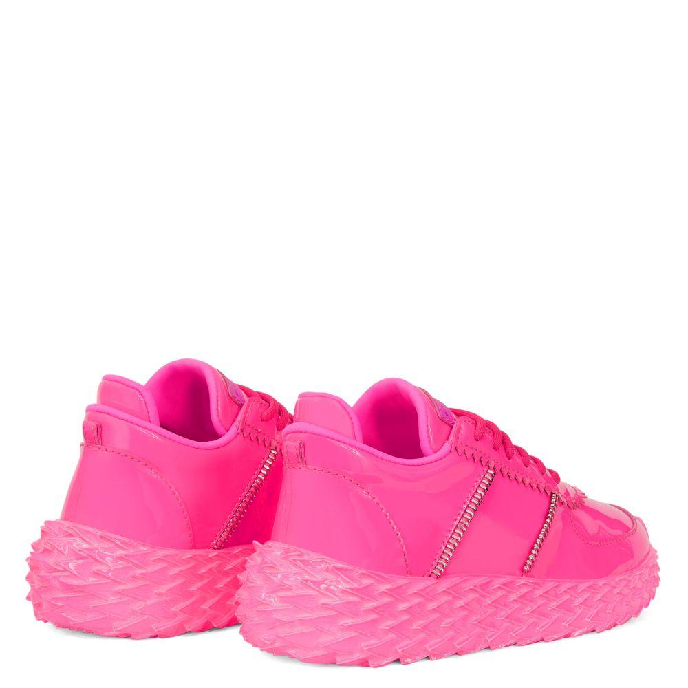 URCHIN - Fuxia - Low top sneakers