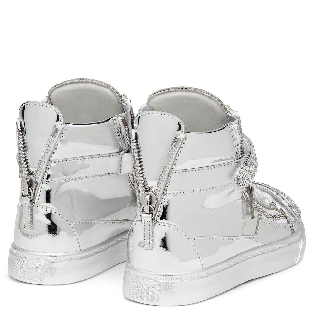 TRIX - Argent - Sneakers hautes