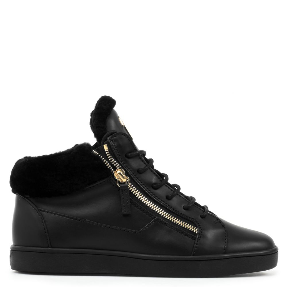 NICKI - Black - Mid top sneakers