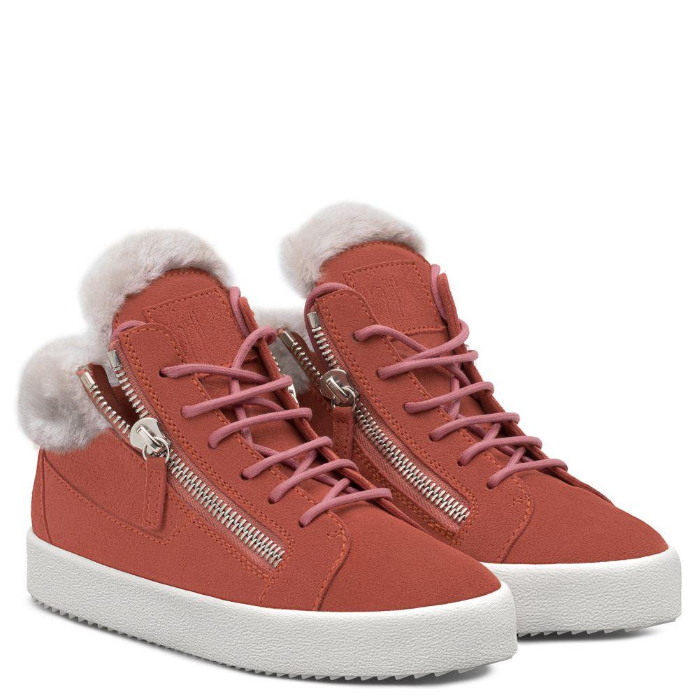 KRISS - Rosa - Sneaker mid top