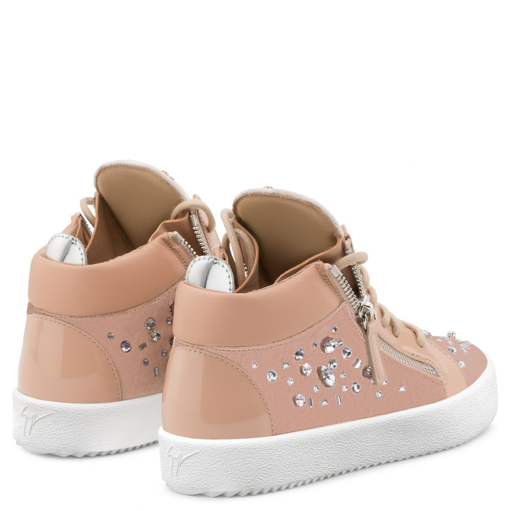 THE DAZZLING KRISS - Pink - Mid top sneakers