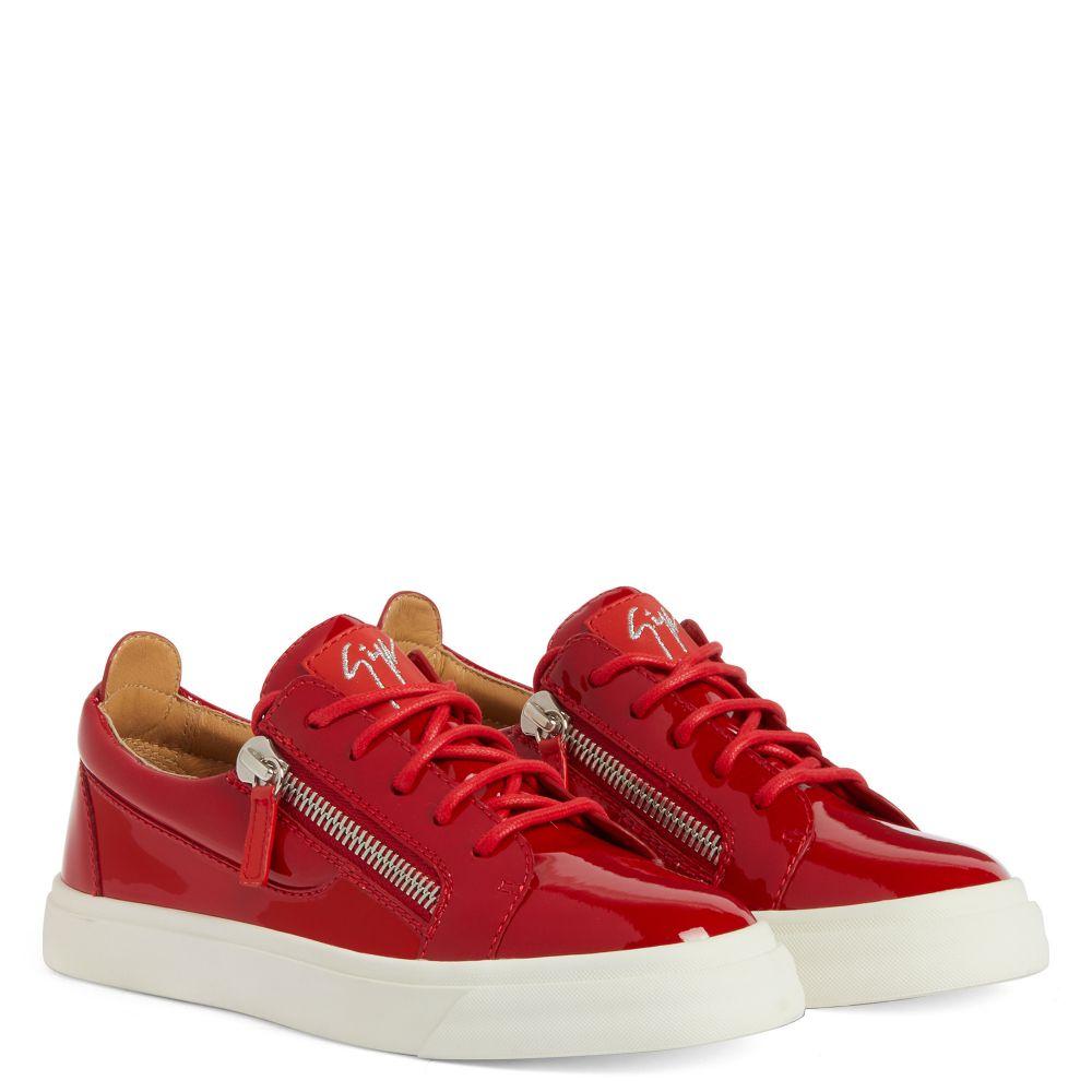 NICKI - Red - Low top sneakers