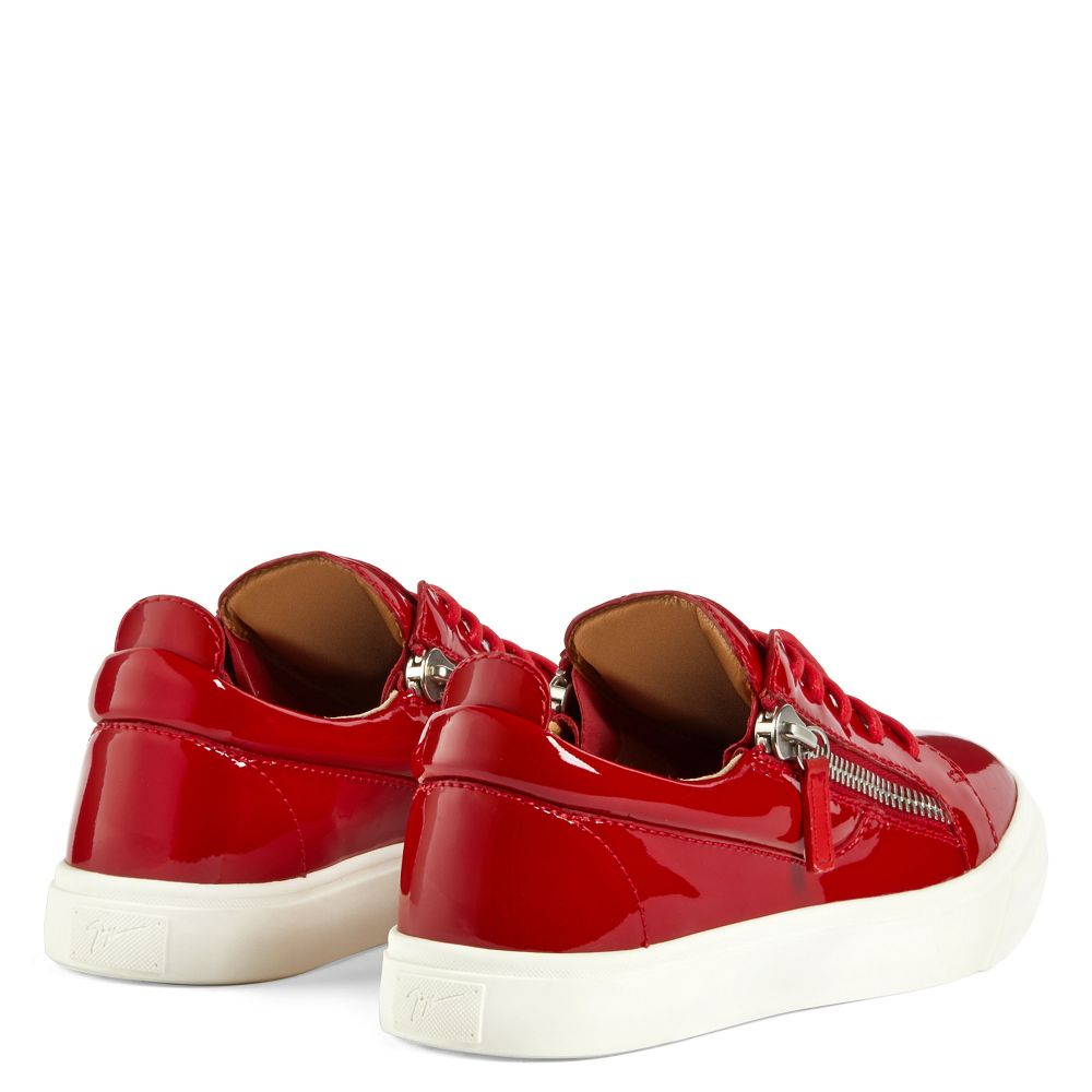 NICKI - Red - Low top sneakers