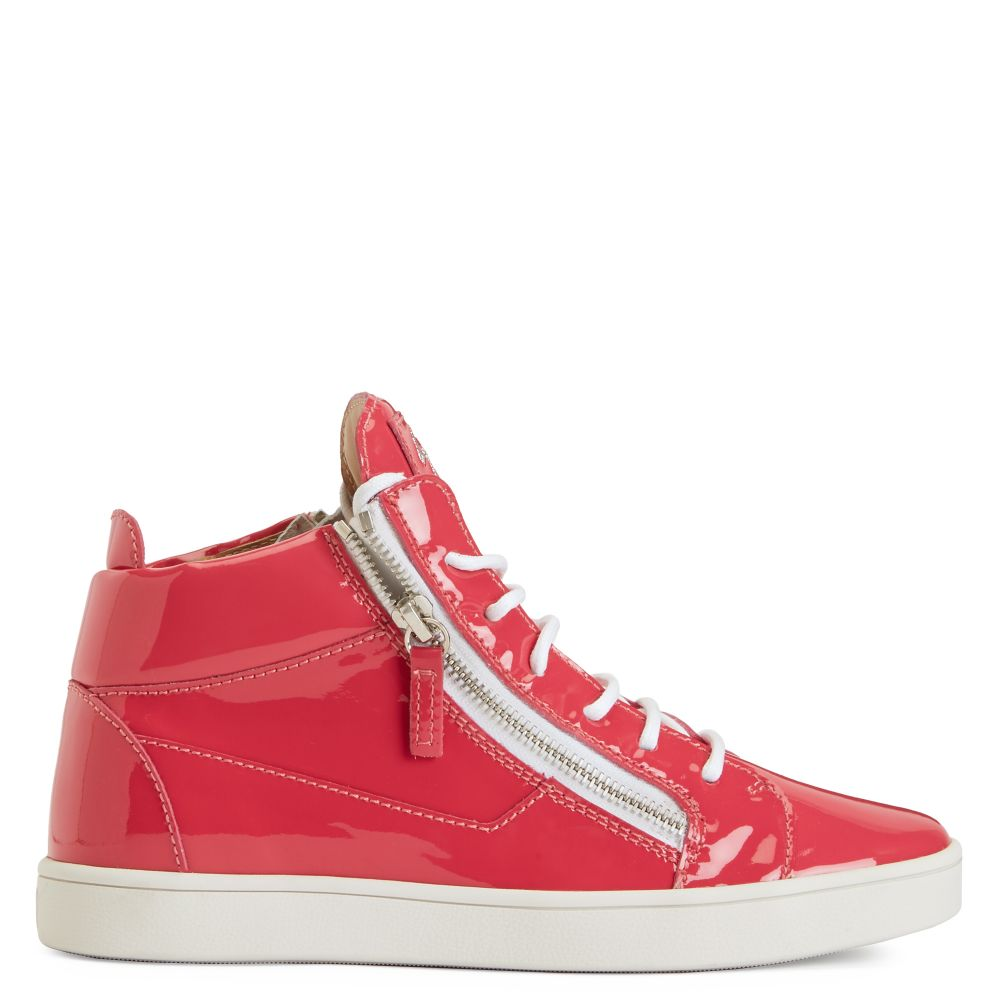 KRISS - Fucsia - Mid top sneakers