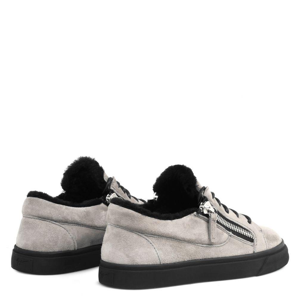 NICKI - Grey - Low top sneakers