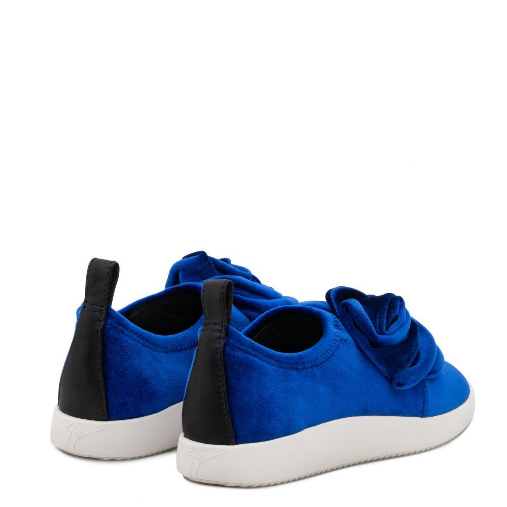 BECCA - Blue - Slip ons