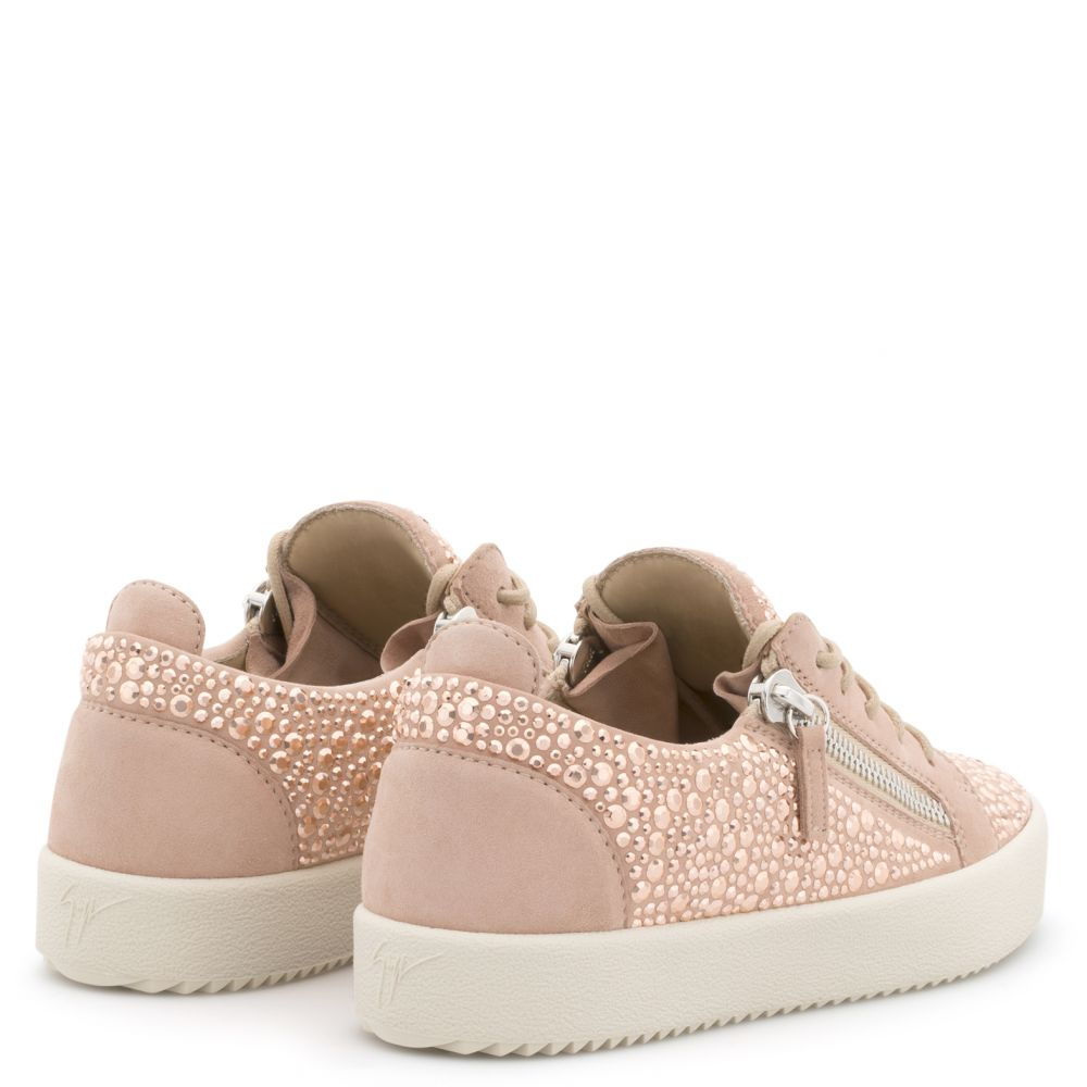 GAIL CRYSTAL - Pink - Low top sneakers