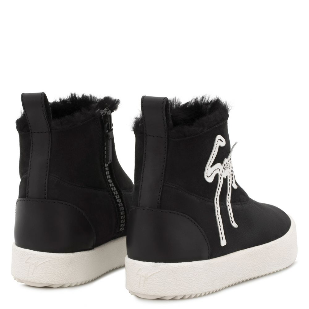 CYRIL - Black - High top sneakers