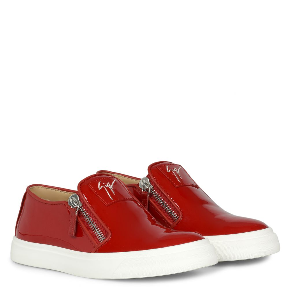 EVE - Red - Slip ons